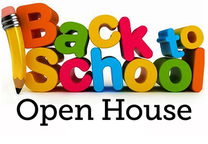 Back to School Open House Logo PNG